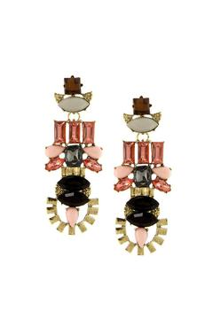 Shoptiques Product: Art Deco Drop Earrings