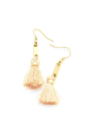 Wild Lilies Jewelry  Bar Tassel Earrings - Front cropped
