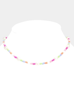Wild Lilies Jewelry  Beaded Choker Necklace - Alternate List Image
