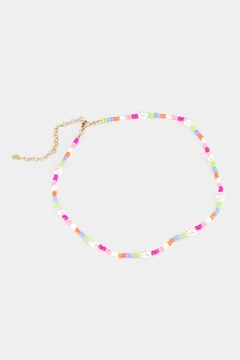Wild Lilies Jewelry  Beaded Choker Necklace - Product List Image