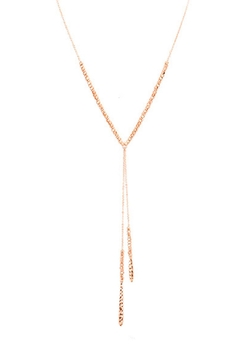 Wild Lilies Jewelry  Beaded Lariat Necklace - Product List Image