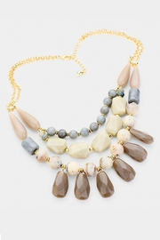 Wild Lilies Jewelry  Beaded Layered Necklace - Product Mini Image