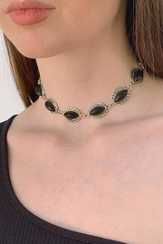 Wild Lilies Jewelry  Black Choker Necklace - Product Mini Image
