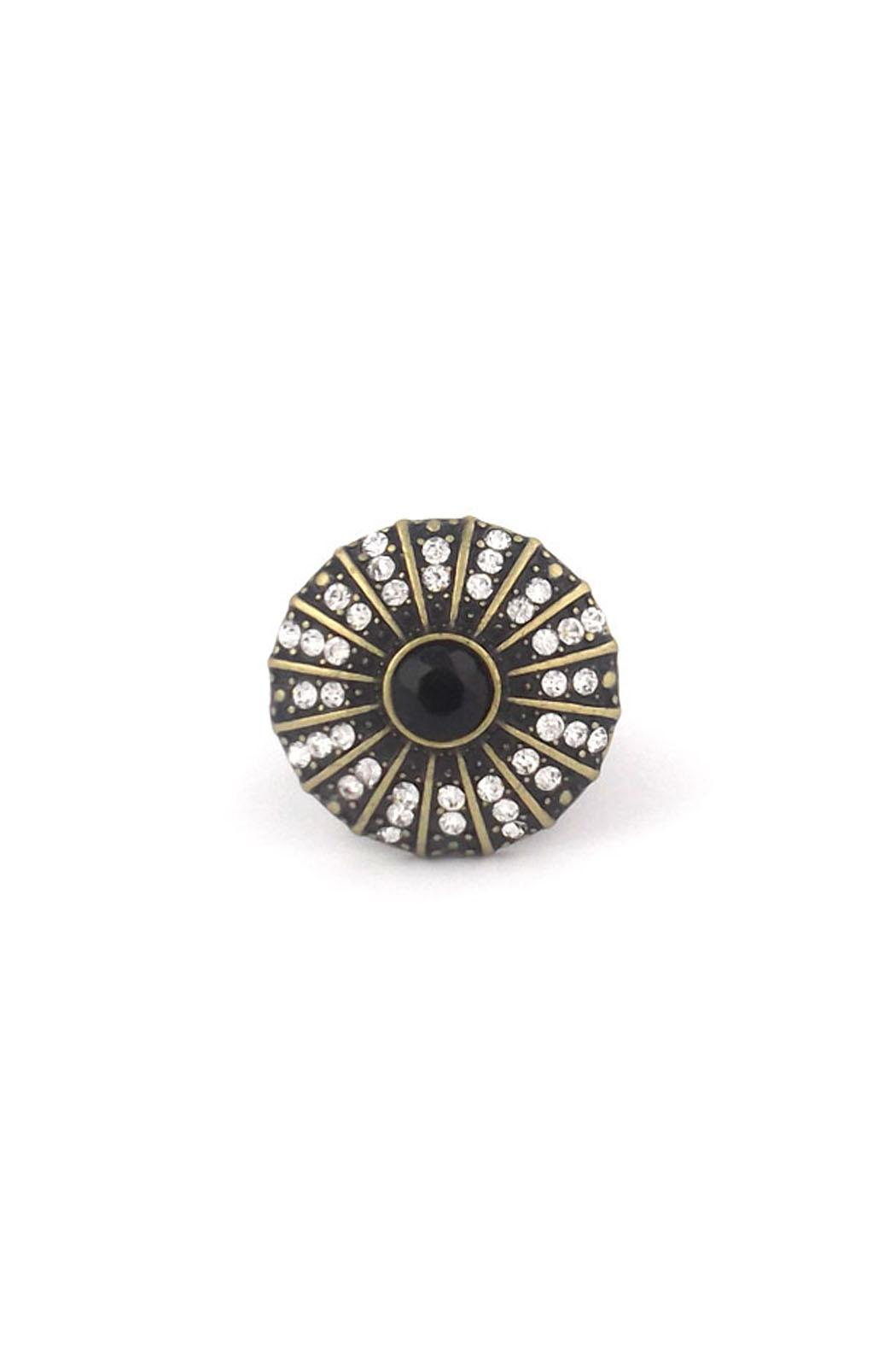Wild Lilies Jewelry  Black Cocktail Ring - Main Image