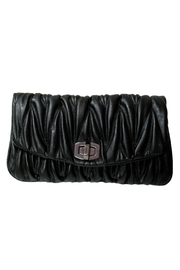 Wild Lilies Jewelry  Black Envelope Clutch - Product Mini Image