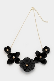 Wild Lilies Jewelry  Black Floral Necklace - Product Mini Image