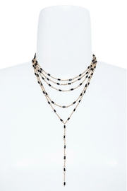 Wild Lilies Jewelry  Black Layered Lariat - Product Mini Image