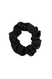 Wild Lilies Jewelry  Black Textured Scrunchie - Product Mini Image