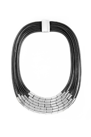 Wild Lilies Jewelry  Black Tube Necklace - Product Mini Image