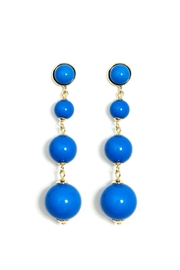 Wild Lilies Jewelry  Blue Ball Earrings - Product Mini Image