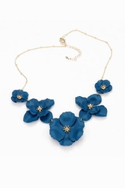 Wild Lilies Jewelry  Blue Flower Necklace - Product Mini Image