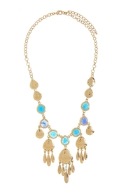 Wild Lilies Jewelry  Blue Statement Necklace - Product Mini Image