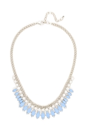 Wild Lilies Jewelry  Blue Statement Necklace - Front cropped