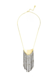 Wild Lilies Jewelry  Boho Fringe Necklace - Front cropped
