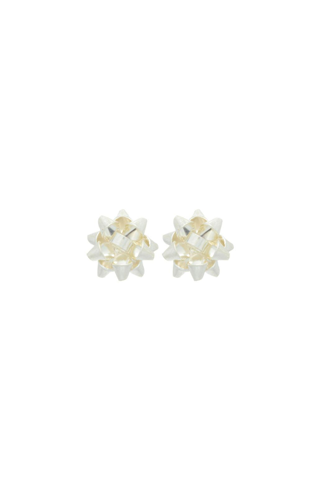Wild Lilies Jewelry  Bourgeois Bow Earrings - Front Cropped Image