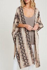 Wild Lilies Jewelry  Brown Snakeskin Kimono - Product Mini Image