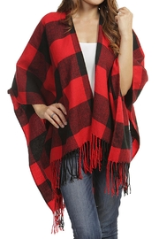 Wild Lilies Jewelry  Buffalo Check Poncho - Product Mini Image