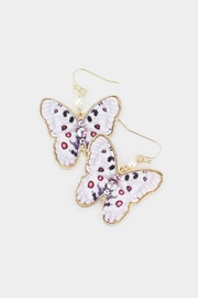 Wild Lilies Jewelry  Butterfly Statement Earrings - Product Mini Image