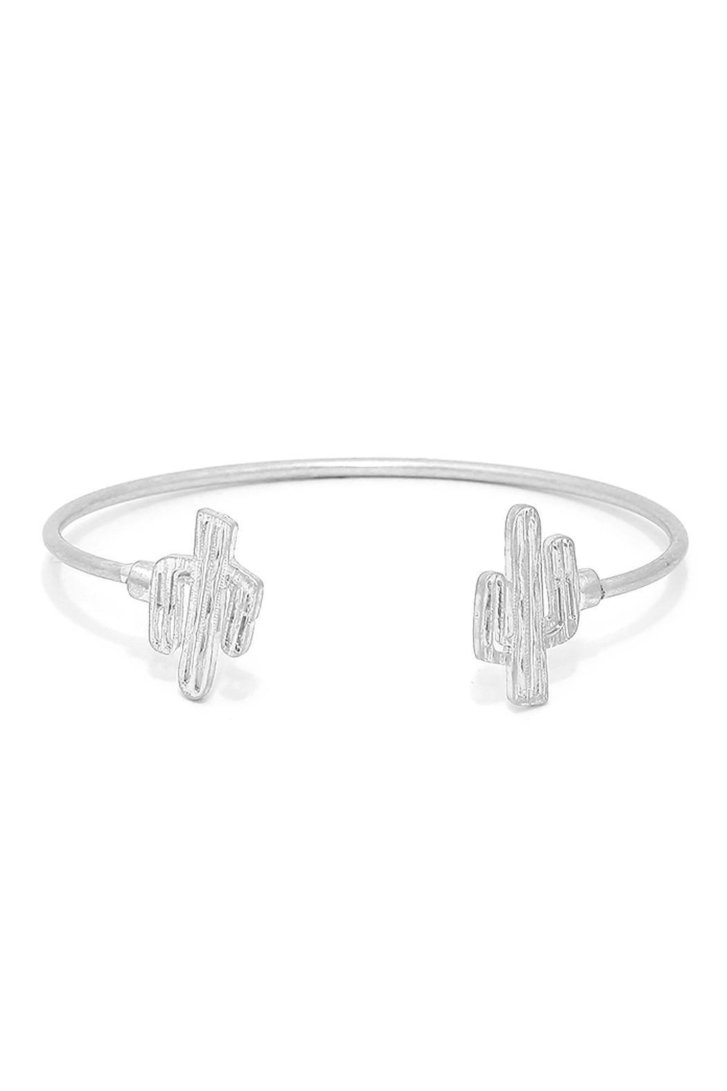 Wild Lilies Jewelry  Cactus Cuff Bracelet - Front Cropped Image