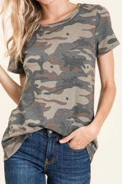 Wild Lilies Jewelry  Camo Star Tee - Alternate List Image