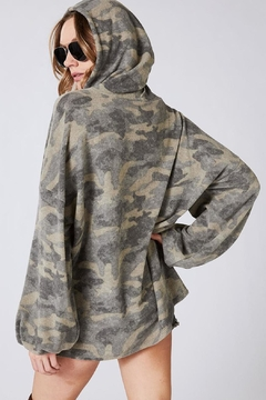 Wild Lilies Jewelry  Camouflage Hoodie Sweatshirt - Alternate List Image