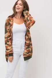 Wild Lilies Jewelry  Camouflage Print Cardigan - Side cropped