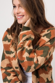 Wild Lilies Jewelry  Camouflage Print Cardigan - Other