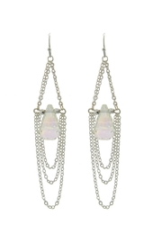Wild Lilies Jewelry  Chain Statement Earrings - Product Mini Image