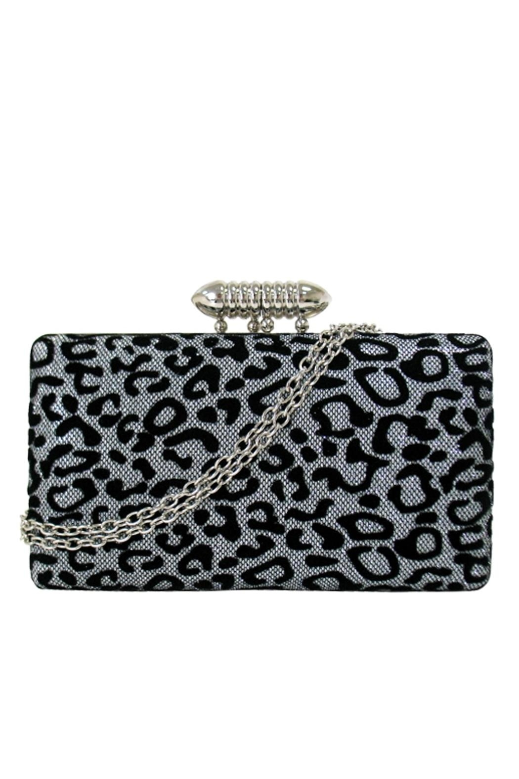 Wild Lilies Jewelry  Cheetah Box Clutch - Front Cropped Image