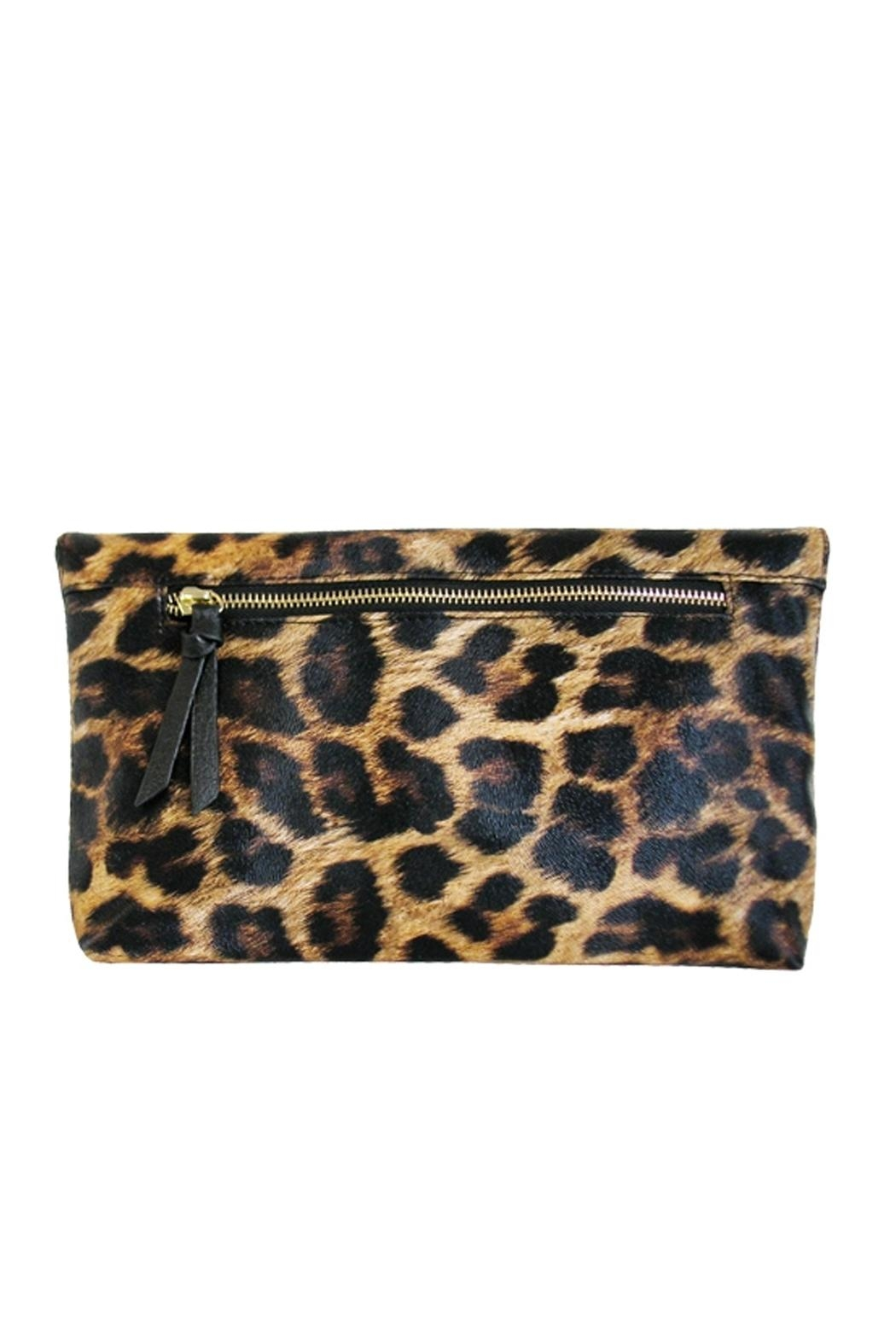 Wild Lilies Jewelry  Cheetah Foldover Clutch - Front Full Image