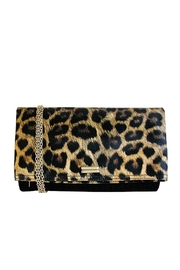 Wild Lilies Jewelry  Cheetah Foldover Clutch - Front cropped