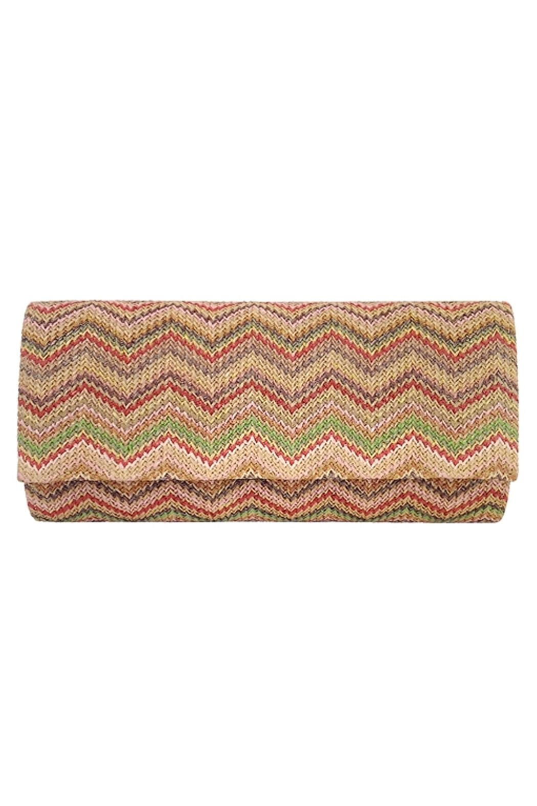 Wild Lilies Jewelry  Chevron Envelope Clutch - Main Image