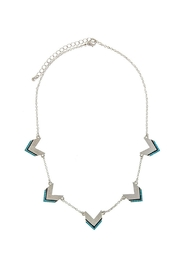 Wild Lilies Jewelry  Chevron Statement Necklace - Front cropped
