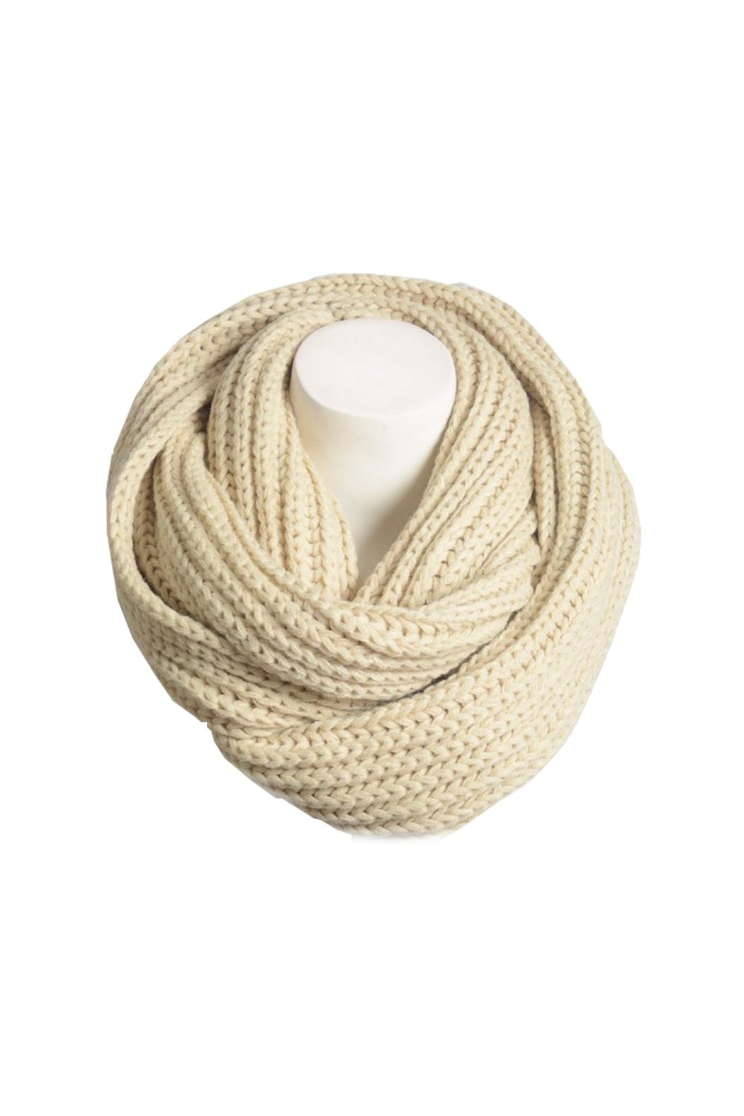 Wild Lilies Jewelry  Chunky Infinity Scarf - Front Full Image