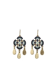 Wild Lilies Jewelry  Clover Fringe Earrings - Product Mini Image