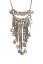 Wild Lilies Jewelry  Coin Statement Necklace - Side cropped