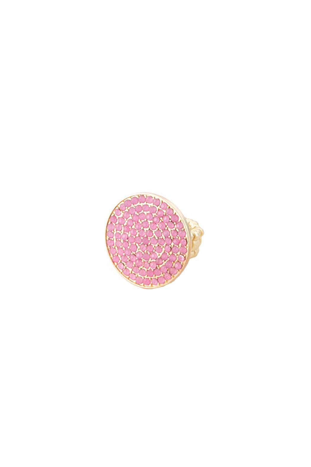 Wild Lilies Jewelry  Colorful Cocktail Ring - Front Cropped Image