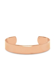 Wild Lilies Jewelry  Copper Cuff Bracelet - Front cropped