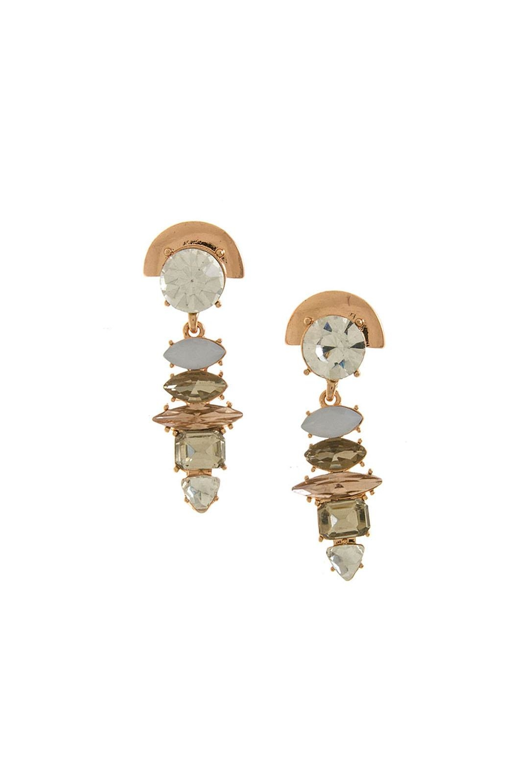 Wild Lilies Jewelry  Copper Statement Earrings - Main Image