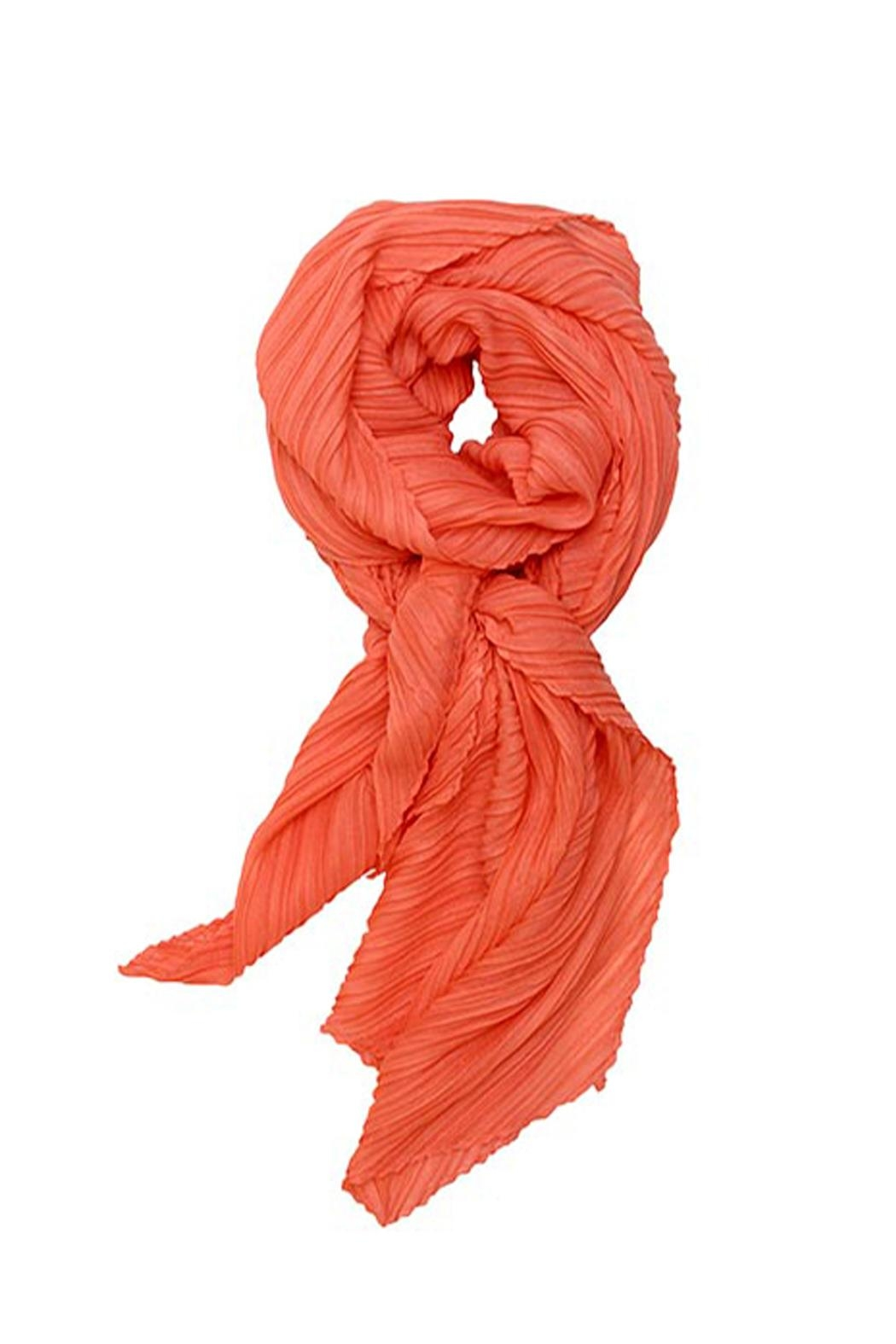 Wild Lilies Jewelry  Coral Accordion Scarf - Main Image