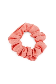 Wild Lilies Jewelry  Coral Textured Scrunchie - Product Mini Image