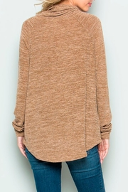 Wild Lilies Jewelry  Cowl Neck Sweater - Side cropped