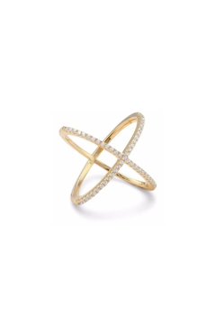Shoptiques Product: Criss Cross Ring