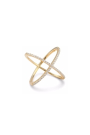 Wild Lilies Jewelry  Criss Cross Ring - Product Mini Image