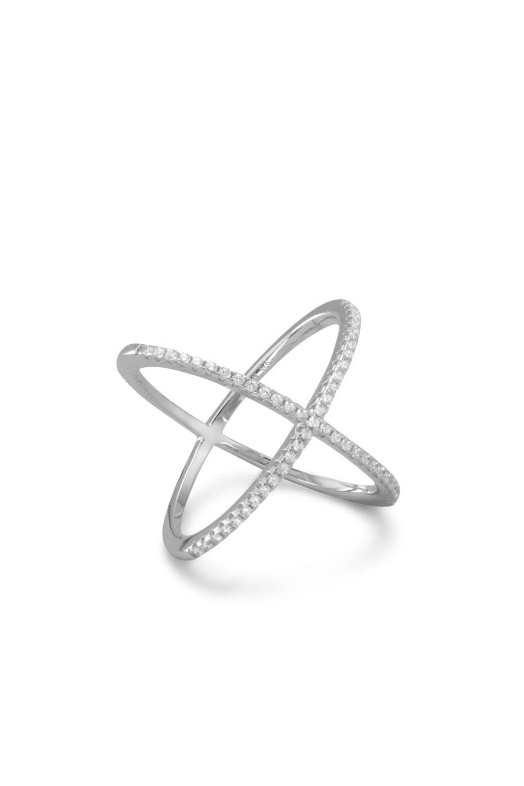 Wild Lilies Jewelry  Criss Cross Ring - Main Image