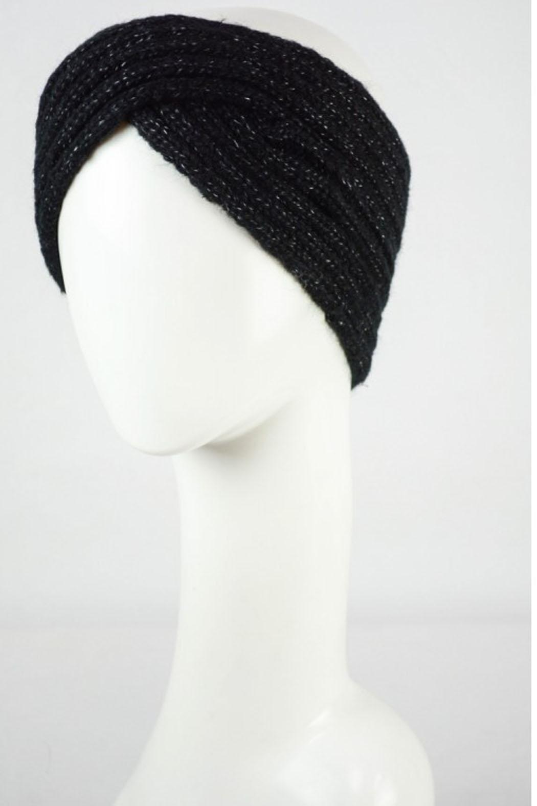 Wild Lilies Jewelry  Crossover Knit Headband - Front Full Image