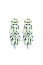 Wild Lilies Jewelry  Crystal Cluster Earrings - Product Mini Image