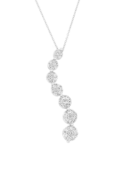 Wild Lilies Jewelry  Crystal Curved Necklace - Alternate List Image
