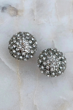 Wild Lilies Jewelry  Crystal Dome Earrings - Alternate List Image