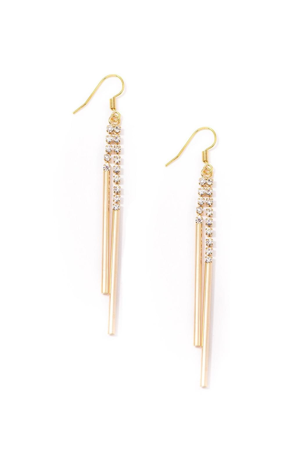 Wild Lilies Jewelry  Crystal Drop Earrings - Main Image